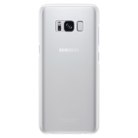 Samsung Cover posteriore per Galaxy S8 - Galaxy S8 Clear Cover Silver/ Transparent Ef-qg950