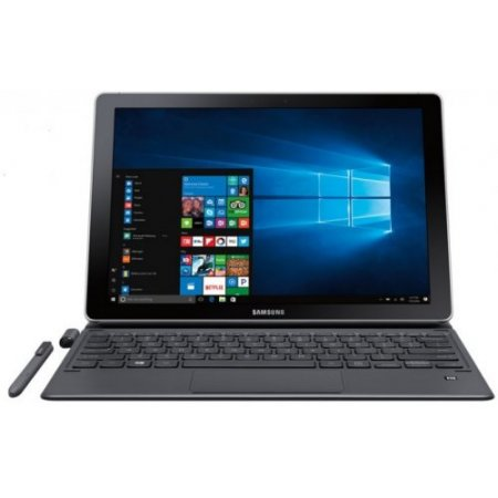 Samsung Tablet Windows 10 Home - Galaxy Book 12 Wi-fi (8/256gb)  - sm w720nzkaitv