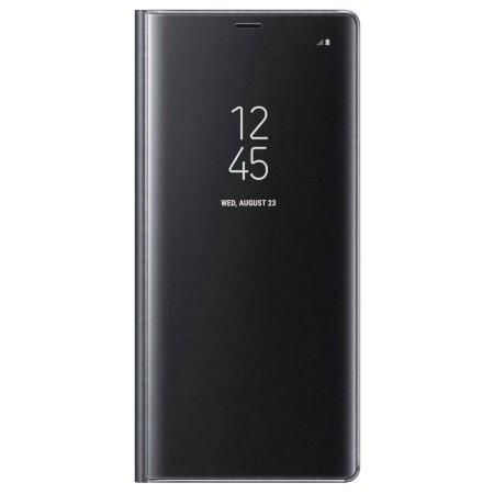 Samsung Accessorio per Note 8 - Clear View Standing Cover Nero Note8