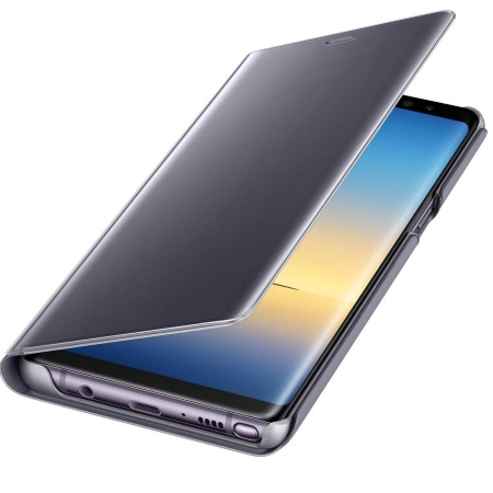 Samsung - Clear View Standing Cover Viola Note8