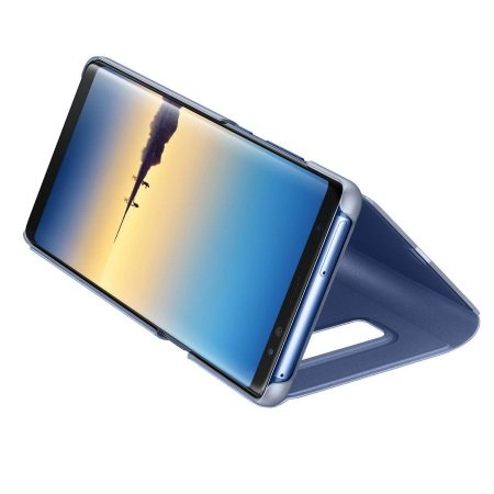 Samsung - Clear View Standing Cover Blu Note 8