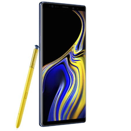 Samsung Quadriband - 3G - 4G-LTE - Wi-Fi - Galaxy Note 9 128gb Sm-n960fzb Blu