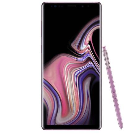 Samsung Quadriband - 3G - 4G-LTE - Wi-Fi - Galaxy Note 9 128gb Sm-n960fzp Viola