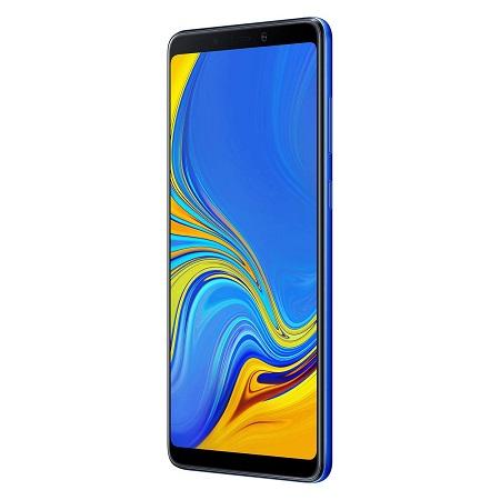 "Samsung Display Super AMOLED da 6.3"", FHD+ (2220 x 1080 pixel) - Galaxy A9 Lemonade Blue 128 Gb"
