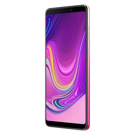 "Samsung Display SuperAMOLED da 6.3"", FHD+ (2220 x 1080 pixel) - Galaxy A9 Bubblegum Pink 128 Gb"