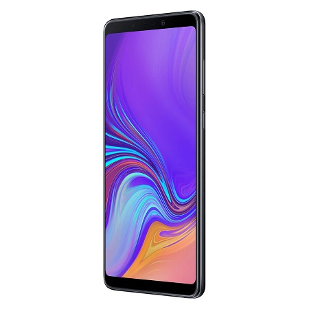 "Samsung Display SuperAMOLED da 6.3"", FHD+ (2220 x 1080 pixel) - Galaxy A9 Caviar Black 128gb"