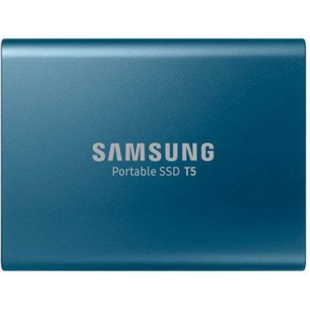 Samsung T5 da 500 GB SSD Portatile Blu USB 3.1 (MU-PA500B/EU)