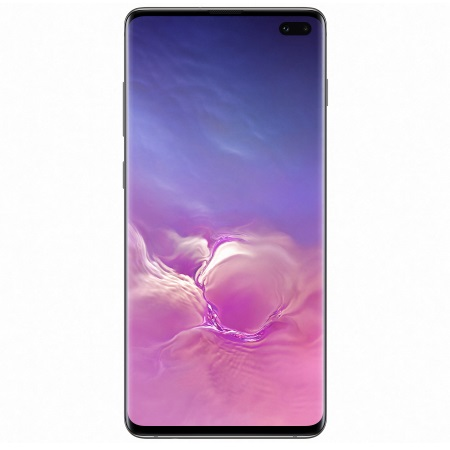 Samsung - Galaxy S10 Plus 512 GB SM-G975F Ceramic Black