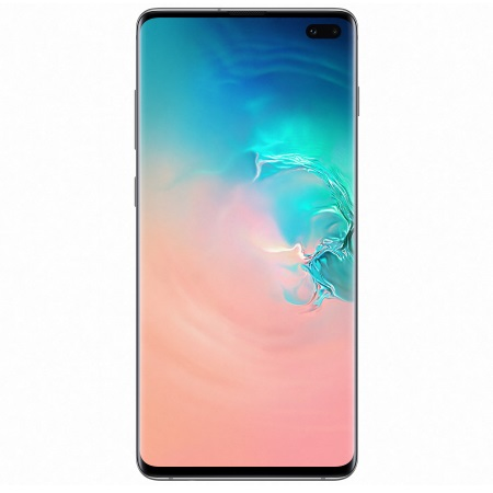 Samsung - Galaxy S10 Plus 128 GB SM-G975F White