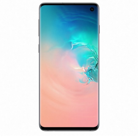 Samsung - Galaxy S10 128 GB SM-G973F White