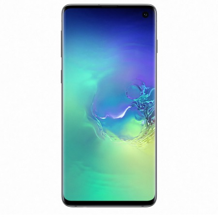 Samsung - Galaxy S10 128 GB SM-G973F Green