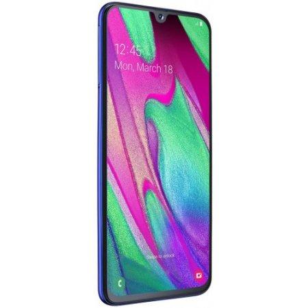 Samsung Smartphone 64 gb ram 4 gb quadband - Galaxy A40 Sm-a405 Blu