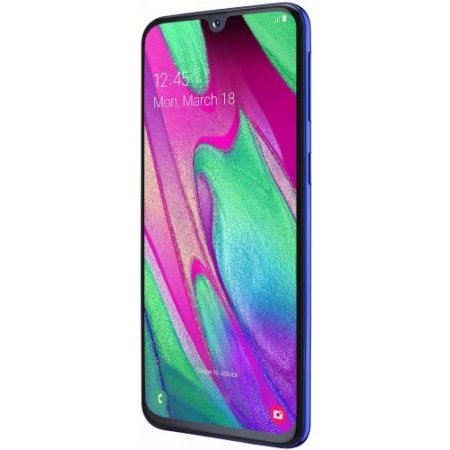 Samsung Smartphone 64 gb ram 4 gb quadband Tim - Galaxy A40 Sm-a405 Blu Tim