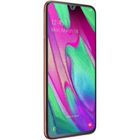 Samsung Smartphone 64 gb ram 4 gb quadband - Galaxy A40 Sm-a405 Corallo