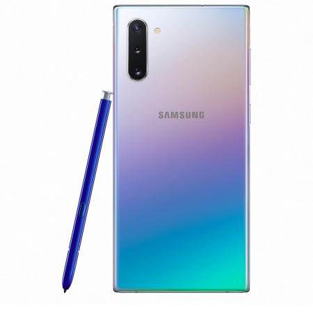 Samsung 4G/LTE Cat. 20 2000/150 Mbps - Galaxy Note 10 SM-N970 256GB Aura Glow