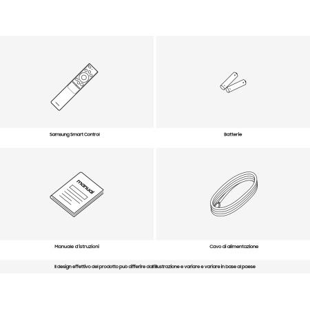"Samsung Dimensioni schermo: 190,5 cm (75"") - Qe75q90tatxzt"
