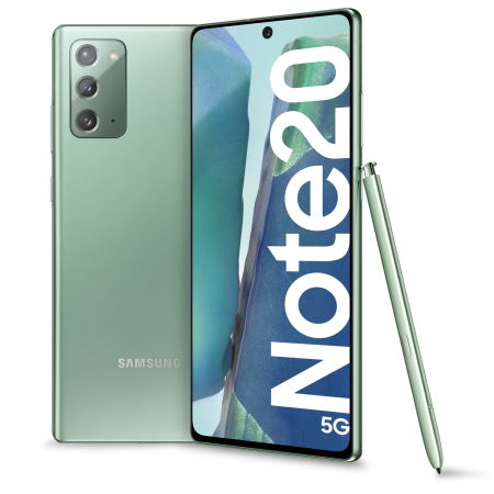 Samsung - Note 20 5G Mystic Green