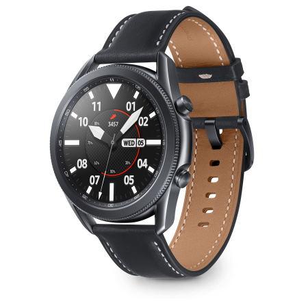 Samsung - Galaxy Watch3 45mm Mystic Black