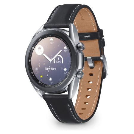 Samsung - Galalaxy Watch3 41mm Bt Mystic Silver