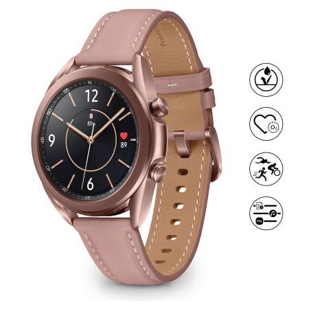 "Samsung Touchscreen 1.2"" Super AMOLED - Galaxy Watch3 41mm Bt Mystic Bronz"