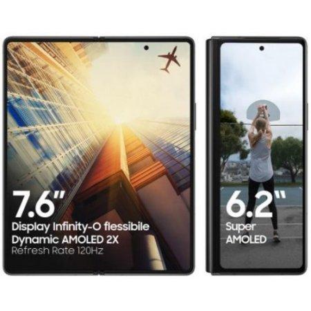 Samsung Smartphone 256 gb ram 12 gb. quadband - Galaxy Z Fold Sm-f916 Bronzo