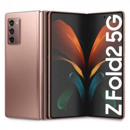 Samsung - Galaxy Z Fold Sm-f916 Bronzo