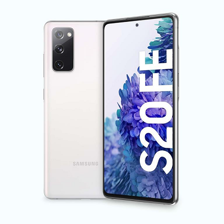 Samsung Display: 6.5 FHD+ Super AMOLED - Samsung Galaxy S20 Fe White