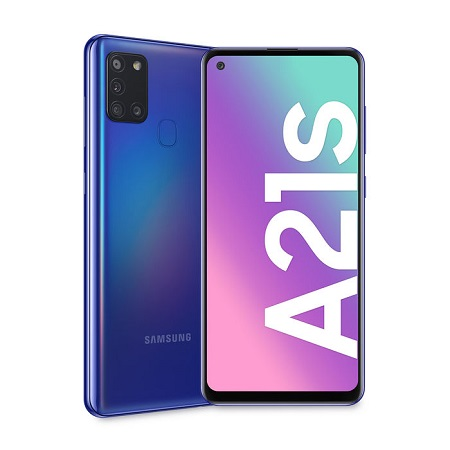 Samsung - GALAXY-A21S BLUE 128GB
