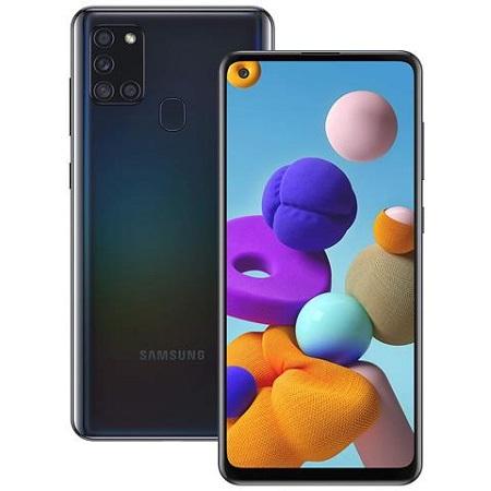 Samsung - GALAXY-A21S BLACK 128GB