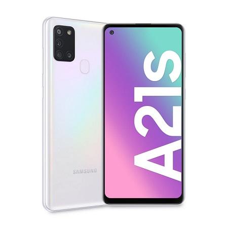 Samsung - GALAXY-A21S WHITE 128GB