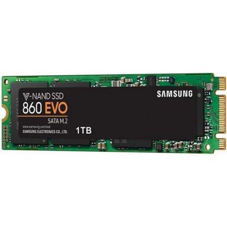 Samsung 860 EVO da 1 TB SSD Interno SATA M.2 (MZ-N6E1T0BW)