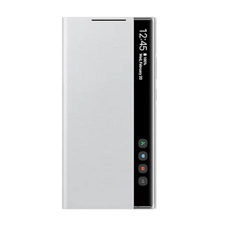 SAMSUNG Galaxy S21+ 5G Smart Clear View Cover Silver - Ef-zg996cjegew