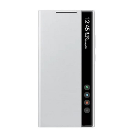 SAMSUNG Galaxy S21 Ultra 5G Smart Clear View Cover Silver - Ef-zg998cjegew