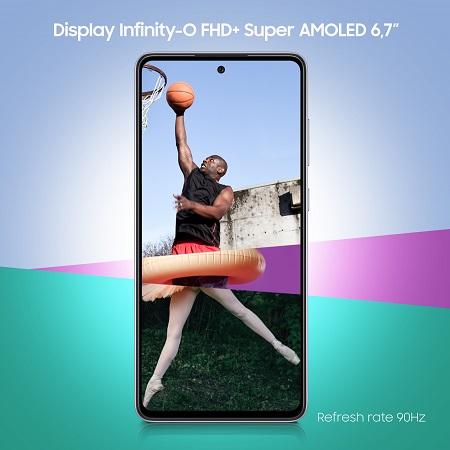 Samsung Smartphone 128 gb - Samsung A72 Violet