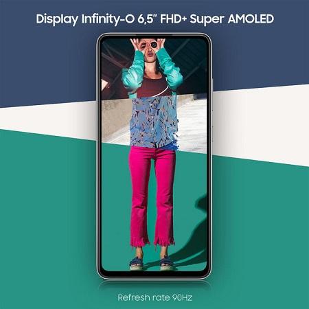 Samsung Smartphone TIM - A52 Black