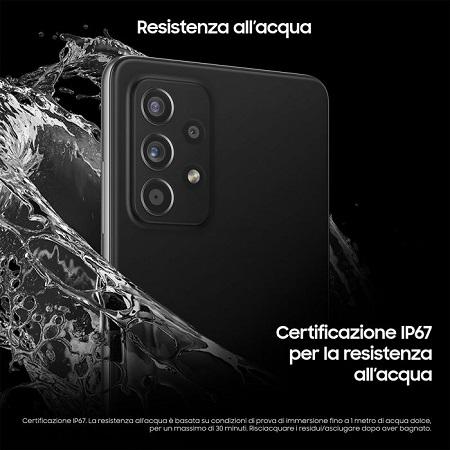 Samsung SCHERMO genere Super AMOLED, 120 Hz - Samsung A52 White
