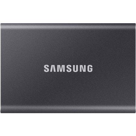 Samsung T7 Touch da 500 GB SSD Portatile Nero USB 3.2 (MU Hard disk portatile - PC500K/WW)