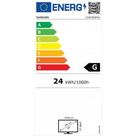 Samsung Monitor led curvo full hd - Lc24f390fhrxen