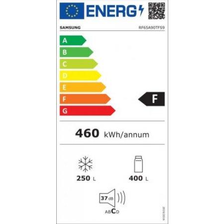 Samsung Frigo combinato 4 porte - Rf65a90tfs9/es