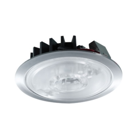 Side Faretto incasso a  led - 0023 - SHELF LED - CROMO - INCASSO MENSOLE