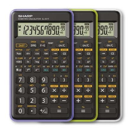 Sharp Calcolatrice Scentifica EL-501T