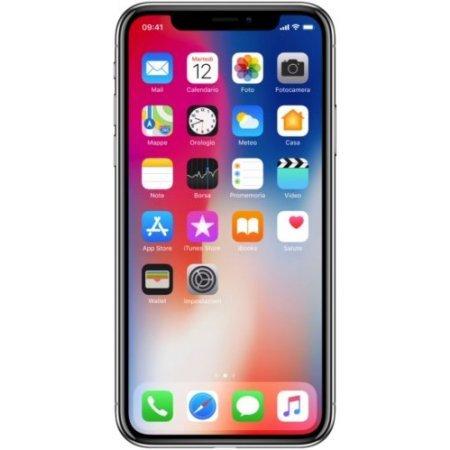 Apple - Iphone X 64gbsilvertim