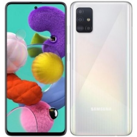 Tim Smartphone 128 gb ram 4 gb. quadband - Samsung Galaxy A51 Prism Crush White