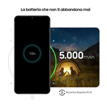 Tim Quadri Band - 4G-LTE - Wi-Fi - NFC - A-GPS - Samsung Galaxy A12 Blue