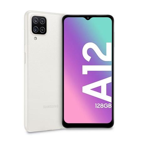 Tim Quadri Band - 4G-LTE - Wi-Fi - NFC - A-GPS - Samsung Galaxy A12 White
