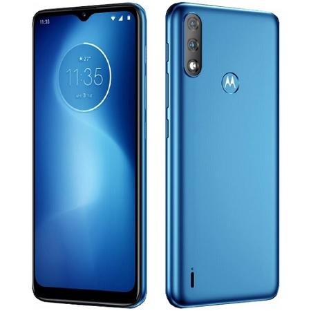 Tim Brand TIM - Motorola Moto E7i Power Tahiti Blue