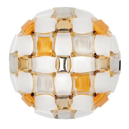 Slamp Mida Medium Ambra Lampada a Plafone per soffitti o pareti Slamp - Mid78plf0000yw000