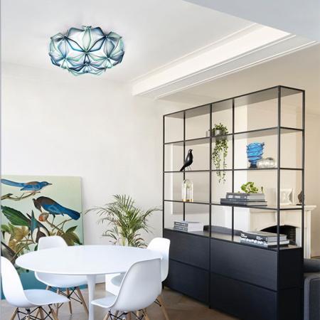 Slamp La Vie Blue Lampada a Plafone per soffitti o pareti Slamp - Lav78plf0002b_00