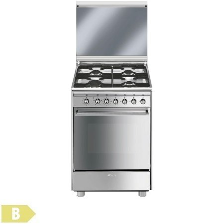 Smeg cucina a libera installazione cx51gve comet - Cucine a gas libera installazione ...