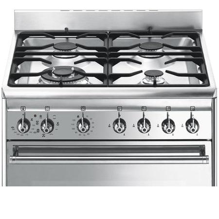 Smeg Cucina a libera installazione - Cx68mf8-2